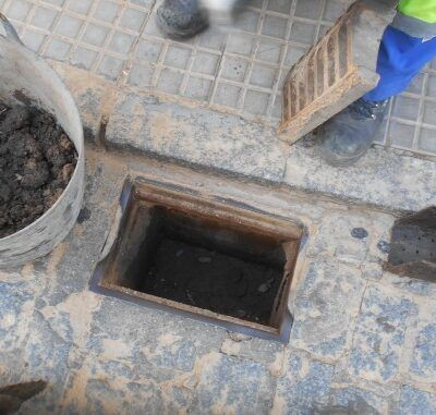 limpieza en las redes de saneamiento